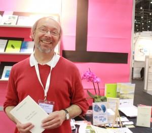 L'anthychois Thierry Coulon présentait ses publications lors du Salon du livre et de la presse de Genève